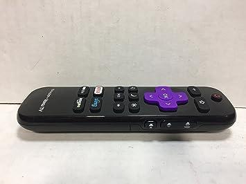 sharp roku tv. sharp lc-rcrus-17 roku tv remote control tv