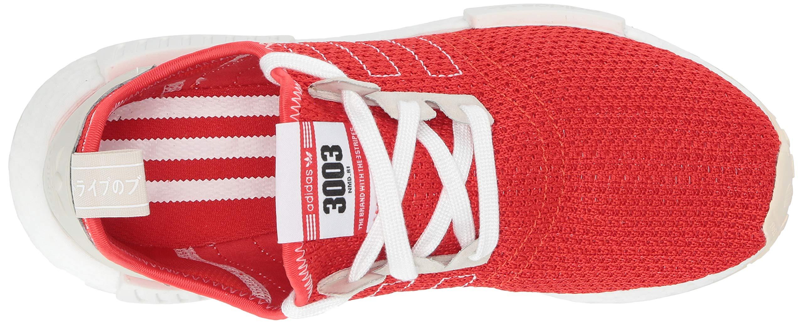 adidas Originals Men's NMD_R1 Running Shoe, Active red/Ecru Tint, 4 M US by adidas Originals (Image #8)