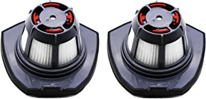 Green Label 2 Pack Replacement Filter for Bissell Bolt Cordless Stick Vacuum (Compares to 1610369)