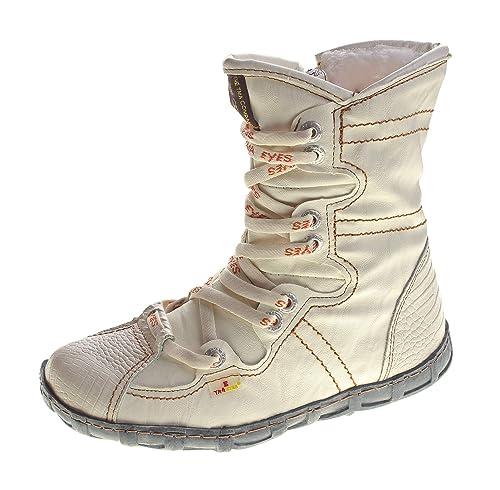 TMA - Botines de Piel con Forro para Mujer: Amazon.es: Zapatos y complementos