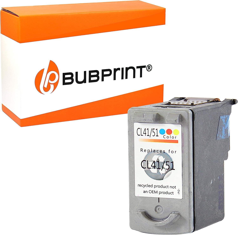 Bubprint Cartuchos Compatible con Canon pg-40 cl-41 - Color: Amazon.es: Oficina y papelería