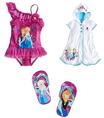 27b52b9023 Image Unavailable. Image not available for. Color: Disney Store Frozen Elsa/Anna  Swim ...