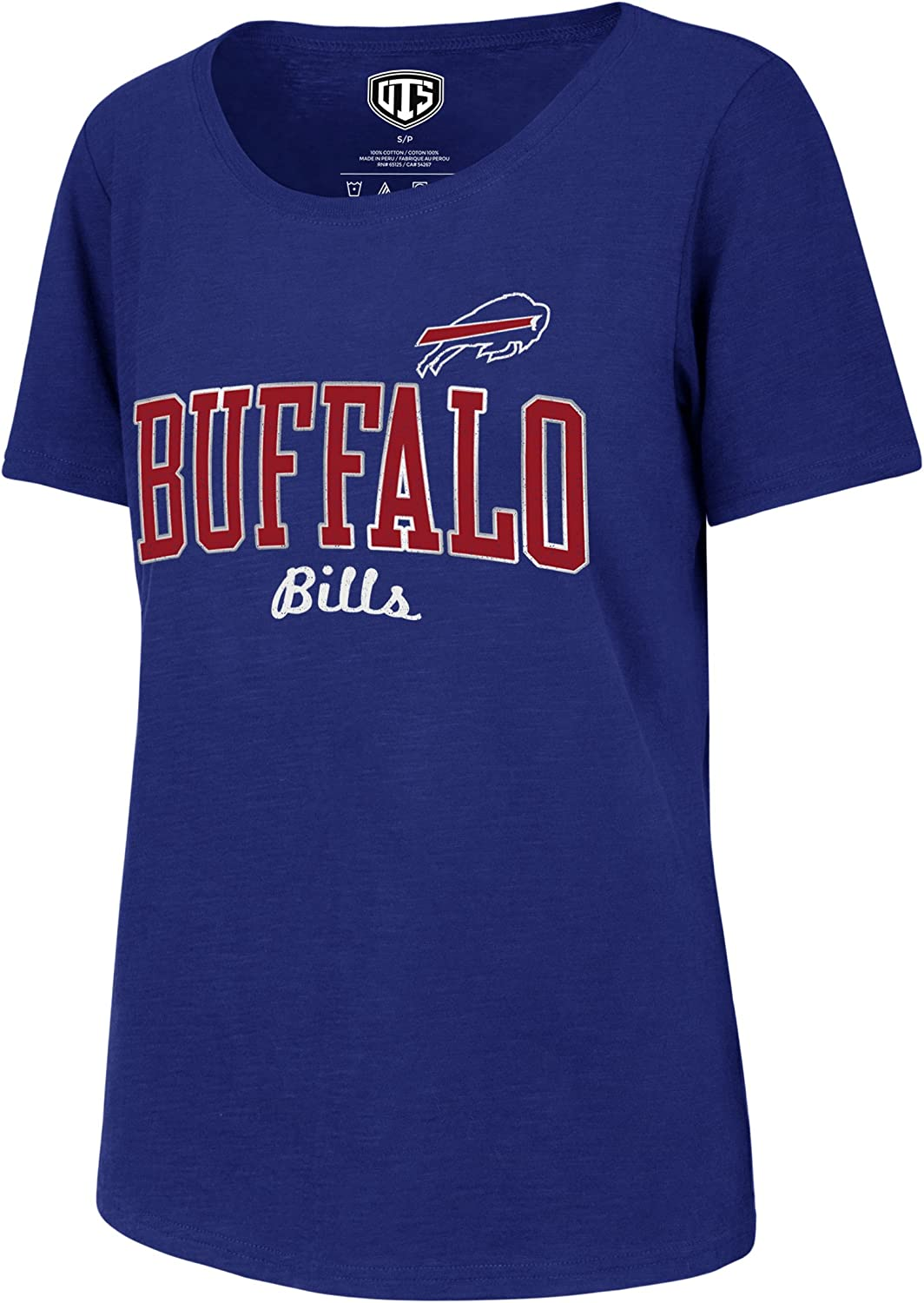 NFL Womens OTS Slub Scoop Tee
