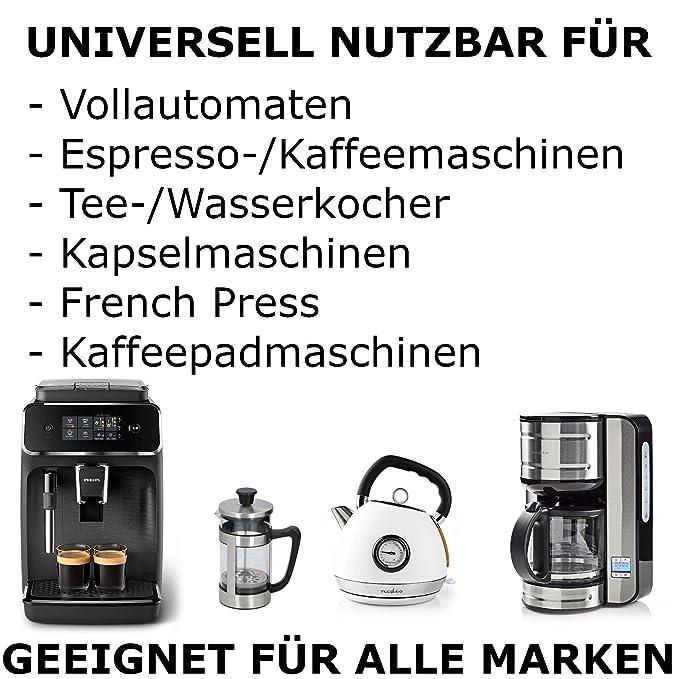 TronicXL - Descalcificador para cafeteras automáticas (1 litro ...