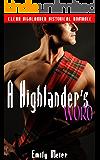 A Highlander's Word: Clean Highlander Historical Romance