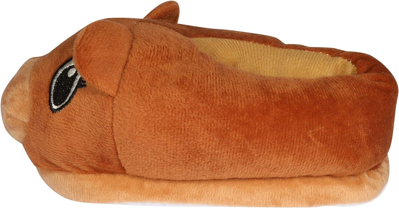 Little Kid//Big Kid dELiAs Girls Plush Animal Critter Slippers
