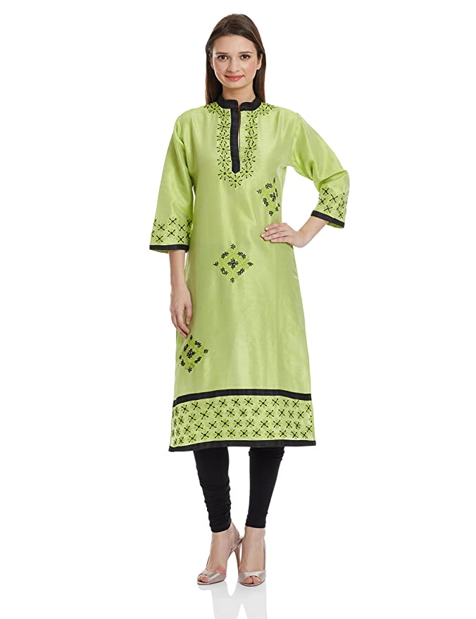 Atayant Women's Straight Kurta Kurtas & Kurtis at amazon
