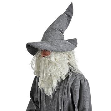 Gris sombrero del mago mago Gandalf accesorio del traje de ...