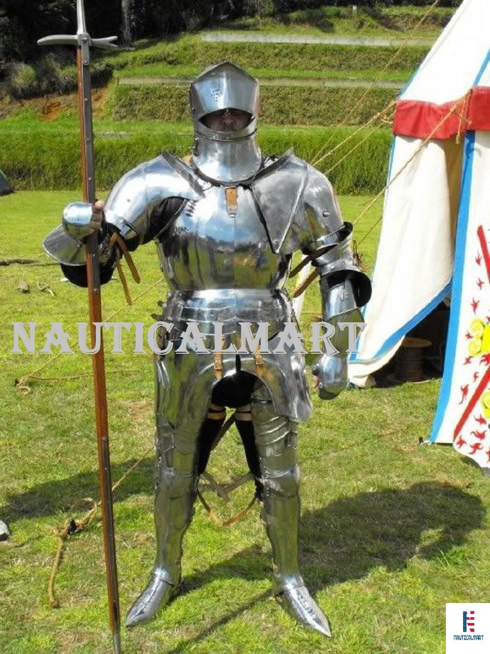 Medieval Knight Suit of Armor 17th Century Combat Full Body Armour Suit