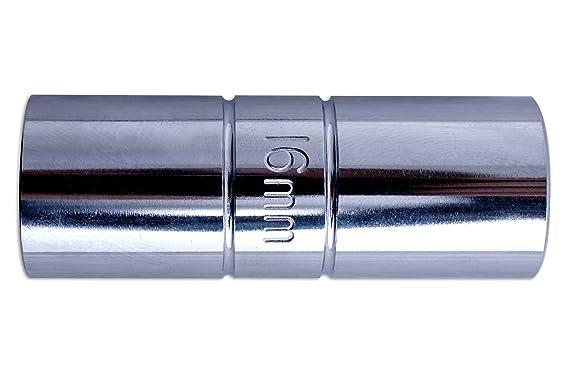 Laser 0100 - Llave de vaso de bujía doble (16 mm): Amazon.es: Coche y moto