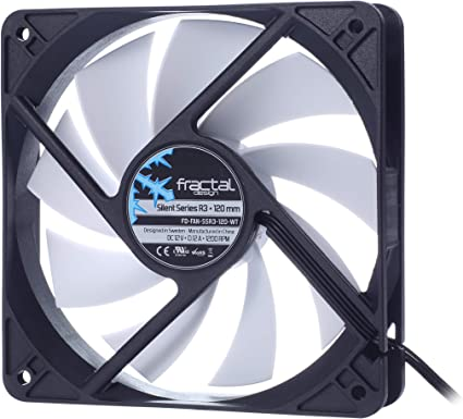 Fractal Design Silent Series R3 - Ventilador de PC, 120 mm: Amazon ...