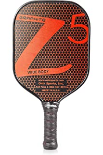 Onix Graphite Z5 Pickleball Paddle with Onix Branded grip + Bonus Overgrip (Babolat Pro Tour
