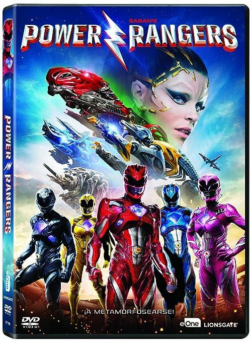 Power Rangers [DVD]: Amazon.es: Dacre Montgomery, Naomi ...