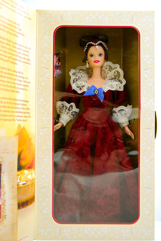 mattel barbie sentimental valentine doll 2nd in be my valentine series hallmark special edition limited edition collectible dolls amazon canada