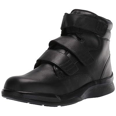 Apex Men's Biomechanical Triple-Strap Work Boot Black Sneaker | Oxford & Derby