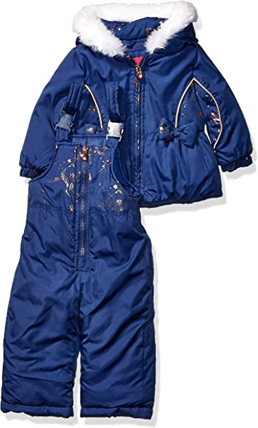 Amazon.com: London Fog - Traje de nieve para niña: Clothing