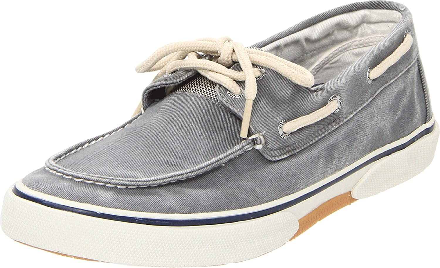 Sperry, Halyard Lace up Boat Shoe GRAY