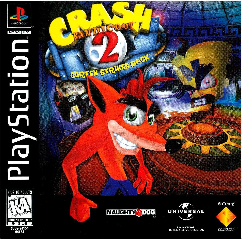 PS1 - Crash Bandicoot 2: Cortex Strikes Back: Amazon.es: Videojuegos