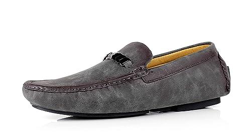 JAS Caballeros Antideslizamiento Encendido Mocasines Conducir Zapatas Informal Mocasin Moderno Marca: Amazon.es: Zapatos y complementos