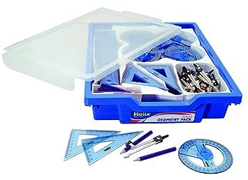 Gratnells - Bandeja de herramientas de geometría escolar