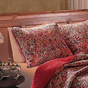 Greenland Home Persian Standard Sham-Multi, Multicolor
