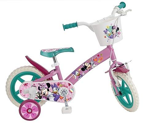 Bicicletta Bambina Minnie Misura 12 Età 3 5 Anni Amazonit Giochi