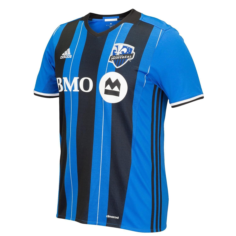 adidas MLS Men's Montreal Impact Replica Home Jersey 7417A