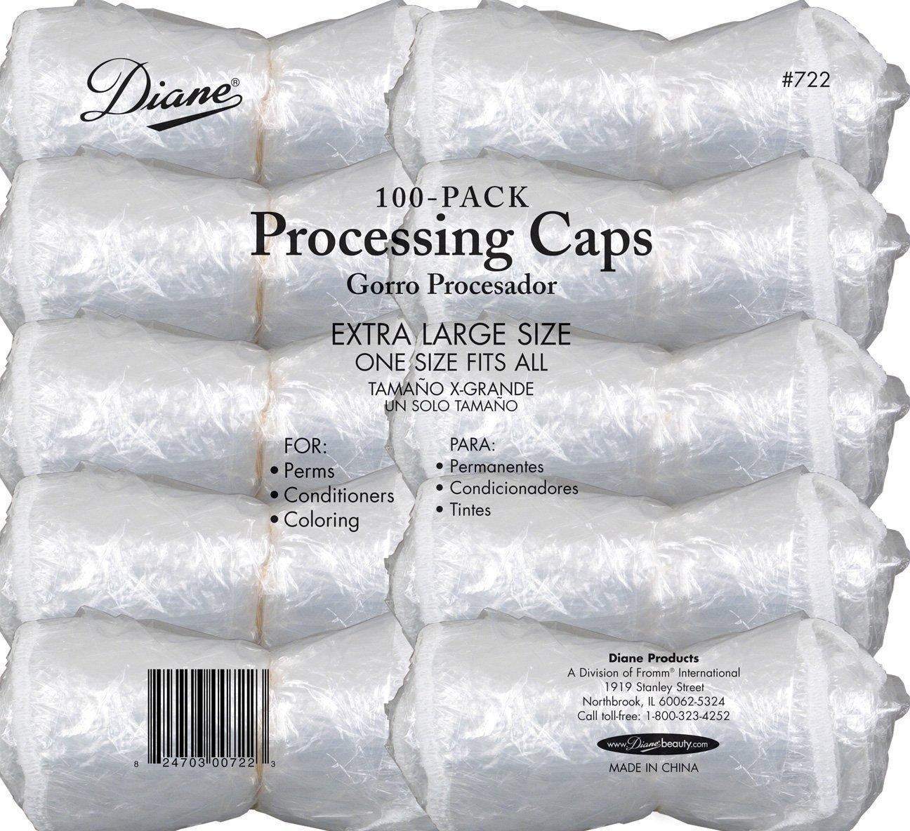 Diane Processing Caps, Pack of 400