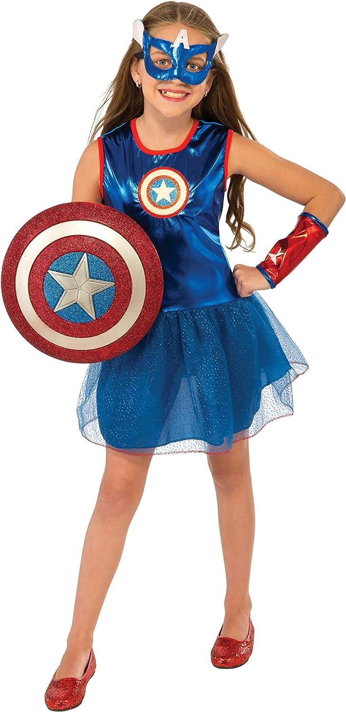 Rubies Disfraz Capitán America Tutu para Niña: Amazon.es: Ropa y ...