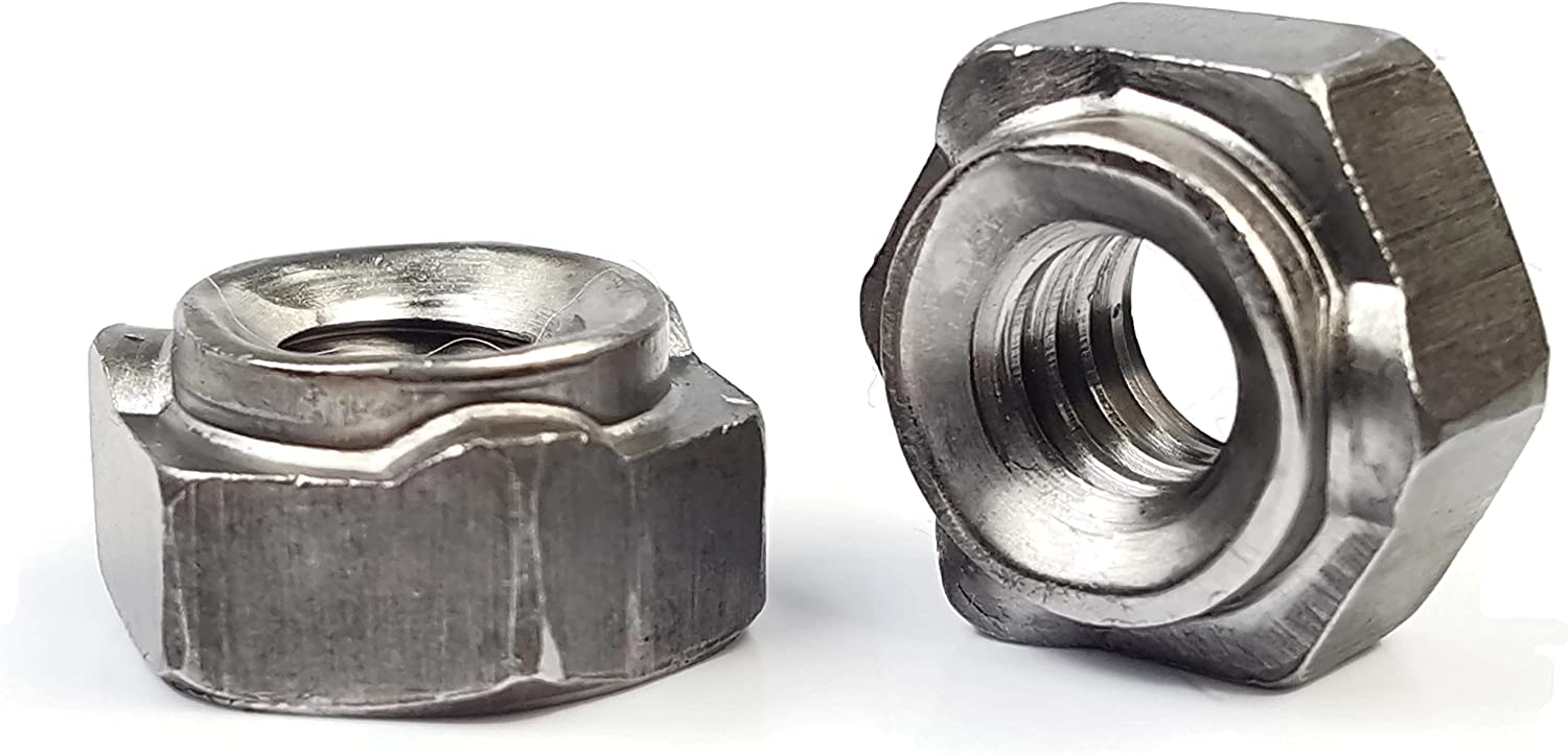 PK50 Steel 1//2-13 Tab Base Weld Nut with Projections