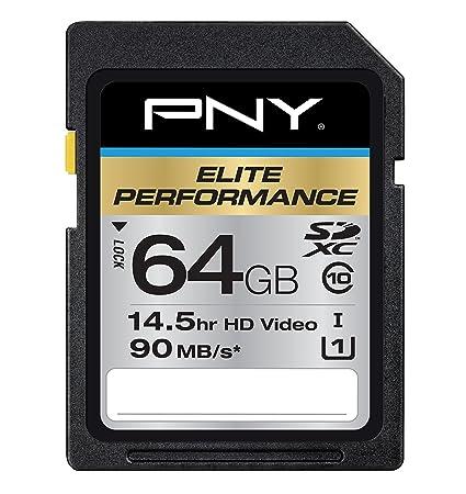 PNY 64GB SDXC UHS 1 64GB SDXC Clase 10 memoria flash ...