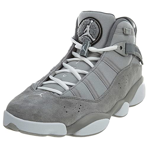 Jordan 6 Rings Matte Silver/White-Cool Grey (9 D(M)