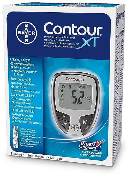 180 opinioni per contour xt misuratore di glicemia