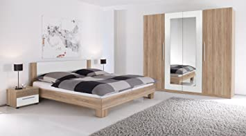moebel-eins MARTINA Komplett-Schlafzimmer, Material Dekorspanplatte ...