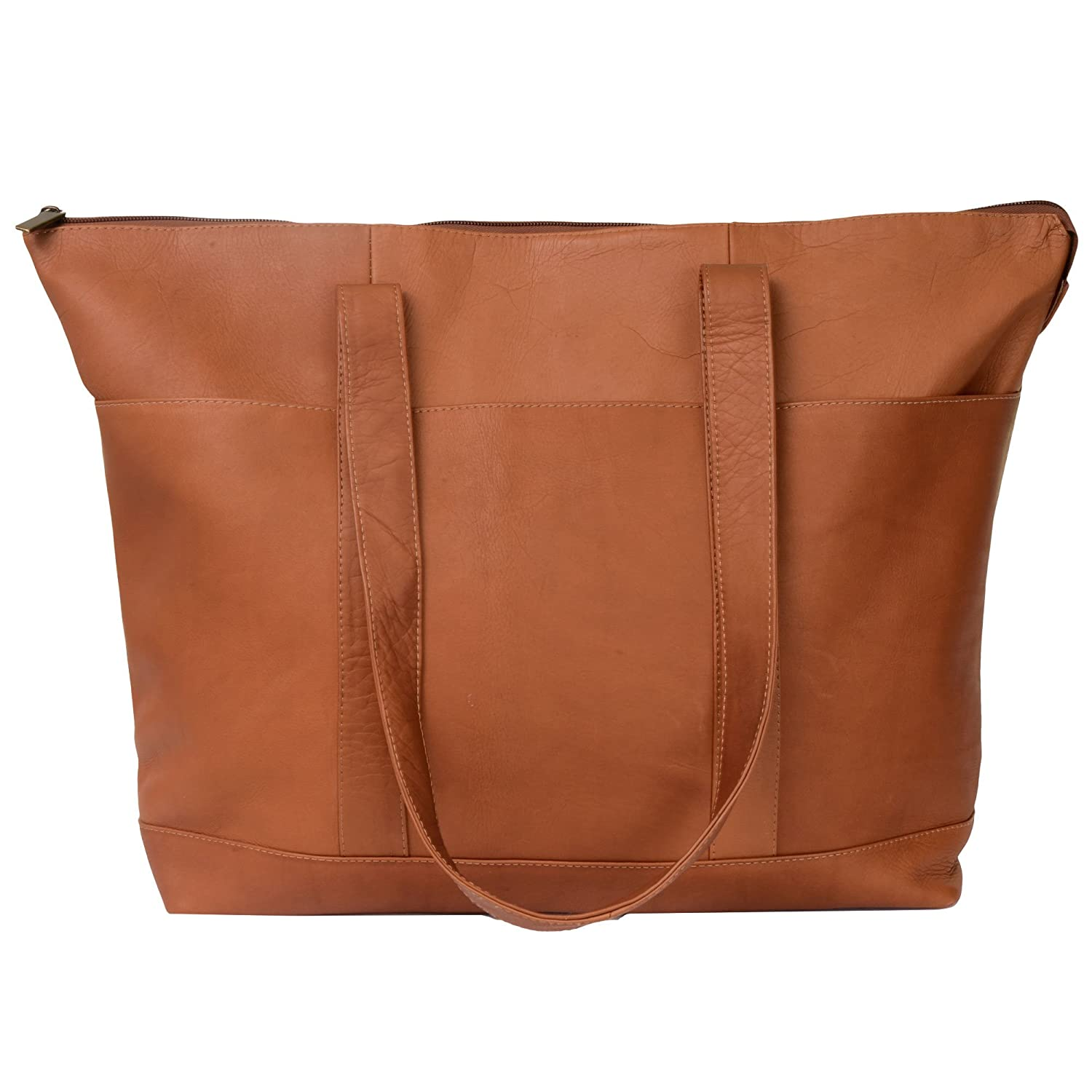 Andrew Philips Vaqueta Napa Womens Large Casual Tote in Tan