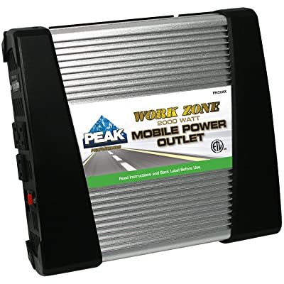 PEAK Mobile Power Outlet, 2000 Watt: Automotive