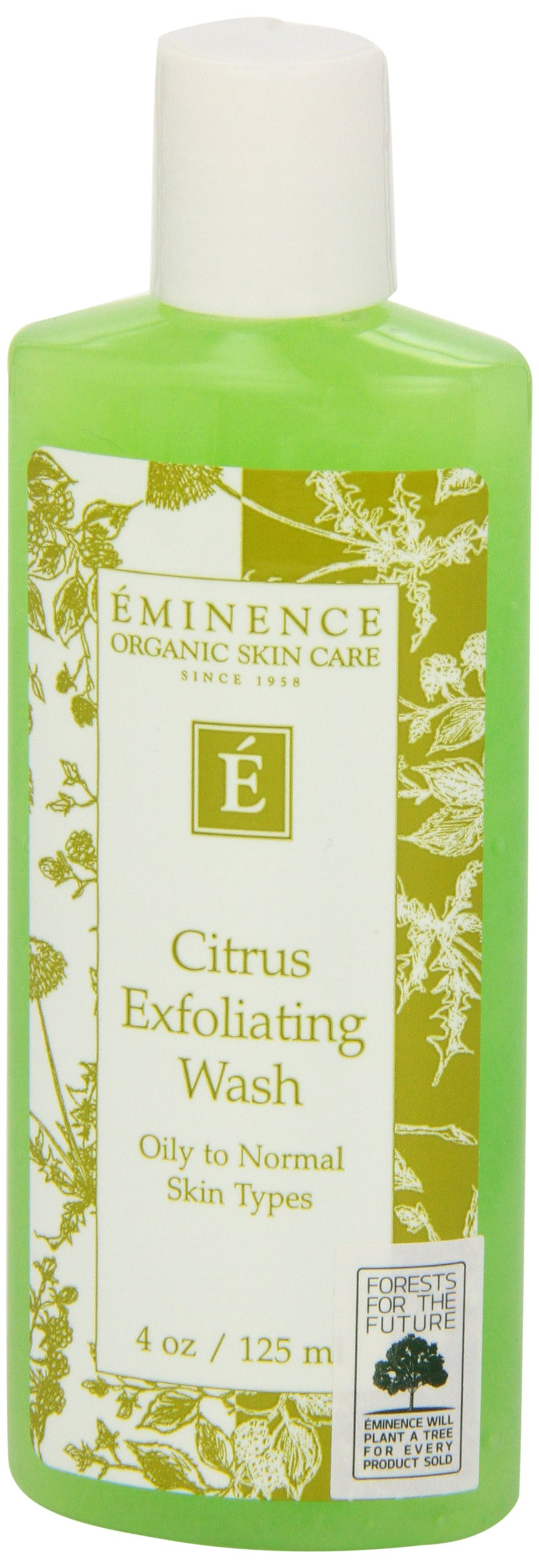 Eminence Citrus Exfoliating Wash, 4.2 Ounce