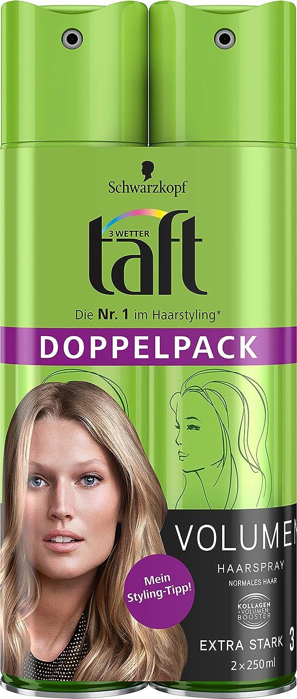 [amazon.de] Schwarzkopf 3 Wetter Taft Haarspray 2x250ml um 2,50€