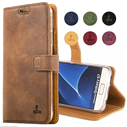 best service e2fc8 482c9 Amazon.com: Galaxy S7 Case, Snakehive Vintage Collection Samsung ...