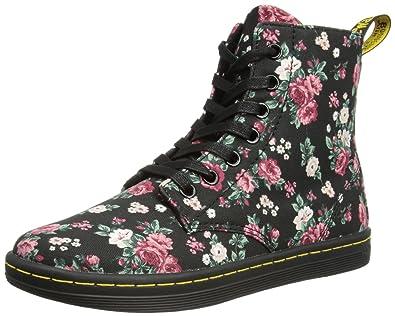 Amazon dr martens womens hackney 7 eye boot ankle bootie dr martens womens hackney 7 eye boot bootblack vintage rose4 uk mightylinksfo
