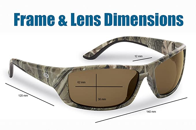 72b8f6a732 Amazon.com  Flying Fisherman Buchanan Polarized Sunglasses  Sports    Outdoors