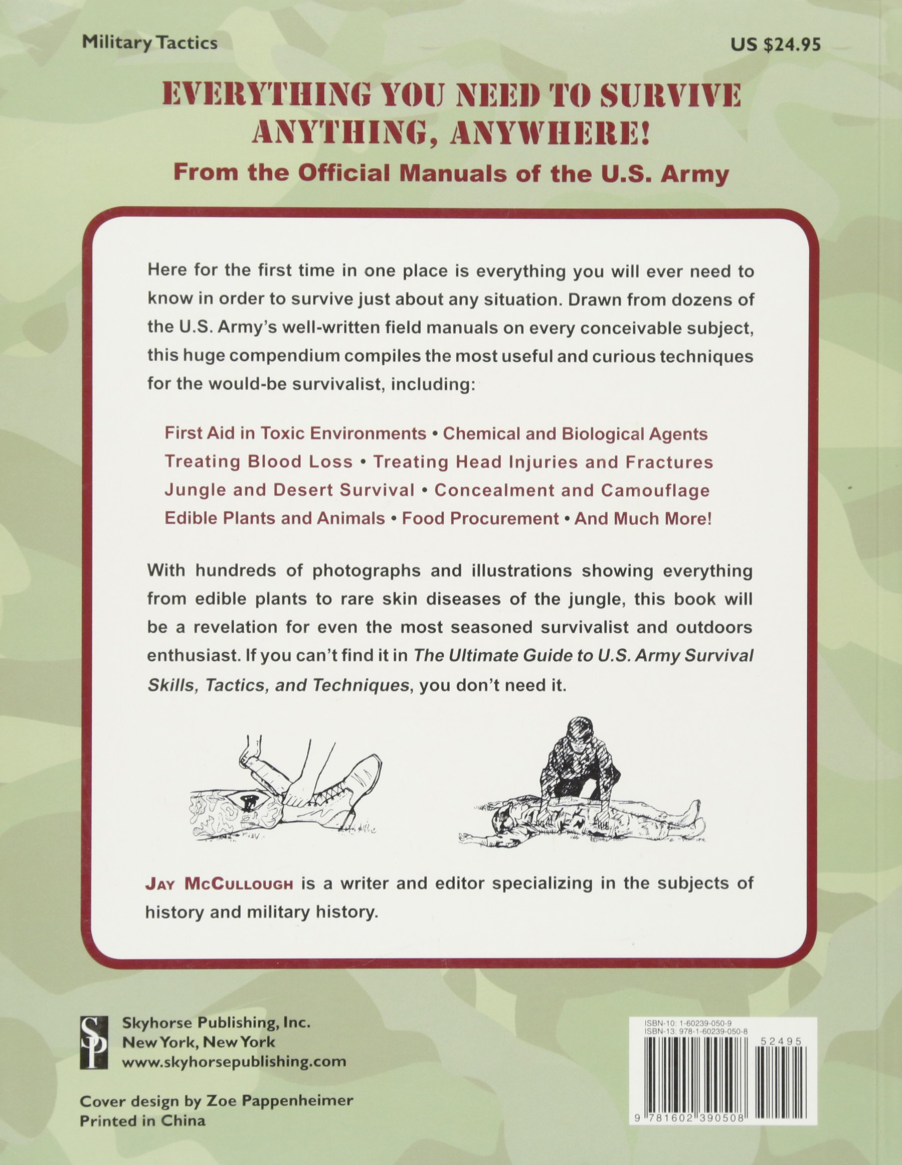 The Ultimate Guide to U.S. Army Survival Skills, Tactics, and Techniques  (The Ultimate Guides): Department of the Army, Jay McCullough:  9781602390508: ...