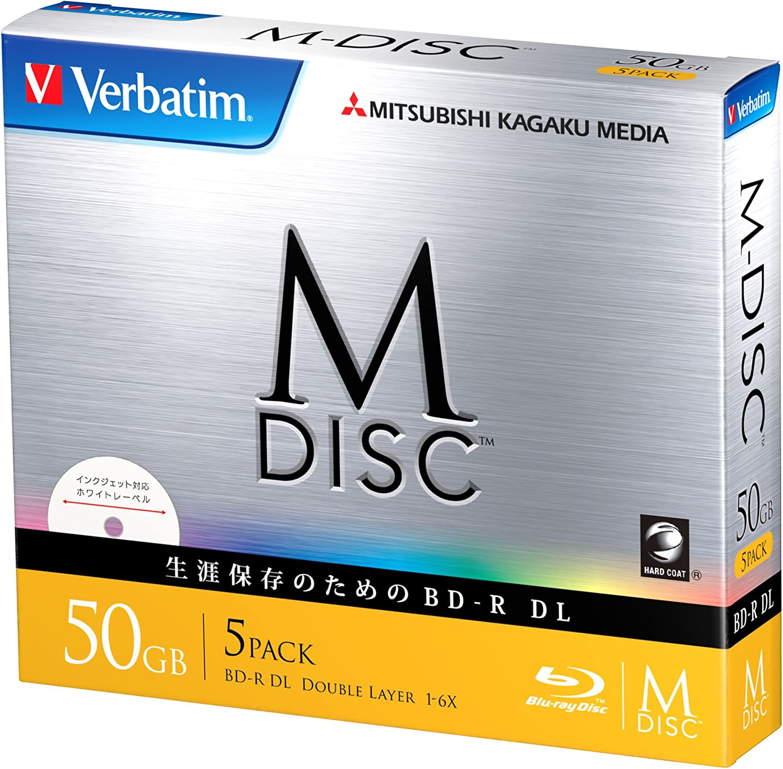Verbatim M Disc Bd R Dl 50gb Blu Rays 50 Gb Dual Computer Zubehör