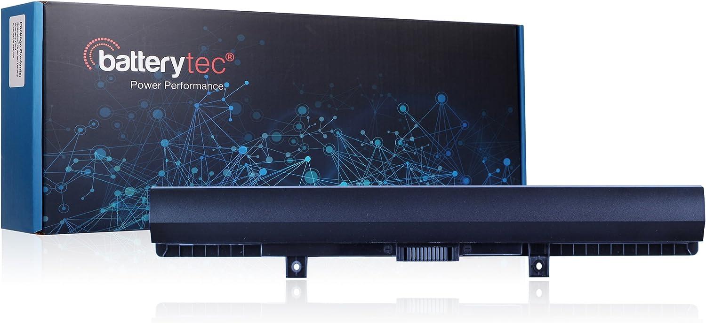 Batterytec® bateria para TOSHIBA Satellite L50-B L50D-B C55-C C55D-C C70-C C70D-C Series, TOSHIBA PA5184U-1BRS PA5185U-1BRS PA5186U-1BRS PA5195U-1BRS. [14.4V 2200mAh, 12 meses de garantía]