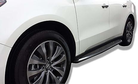 Amazoncom Acura MDX Premium Aluminum Side Steps Running - Acura mdx running boards
