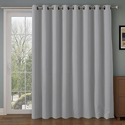 Amazoncom Rhf Function Curtain Wide Thermal Blackout Patio Door