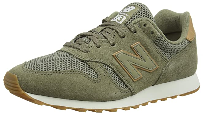 New Balance 373 Core Sneakers Herren Grün (Covert Green/Veg Tan)