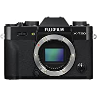 Fujifilm X Series X-T20 Mirrorless Digital Camera (Black (Body Only))