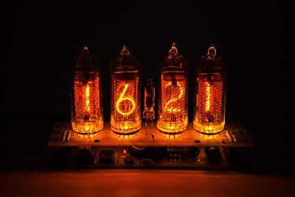 Nixie Vacuum Tube Clock Calendar IN 14