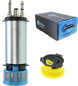 HFP-512 Fuel Pump with Strainer Replacement for Mercury Sport Jet 240 Replaces 809088T1, 67H-13907, 65L-13907, 827682T